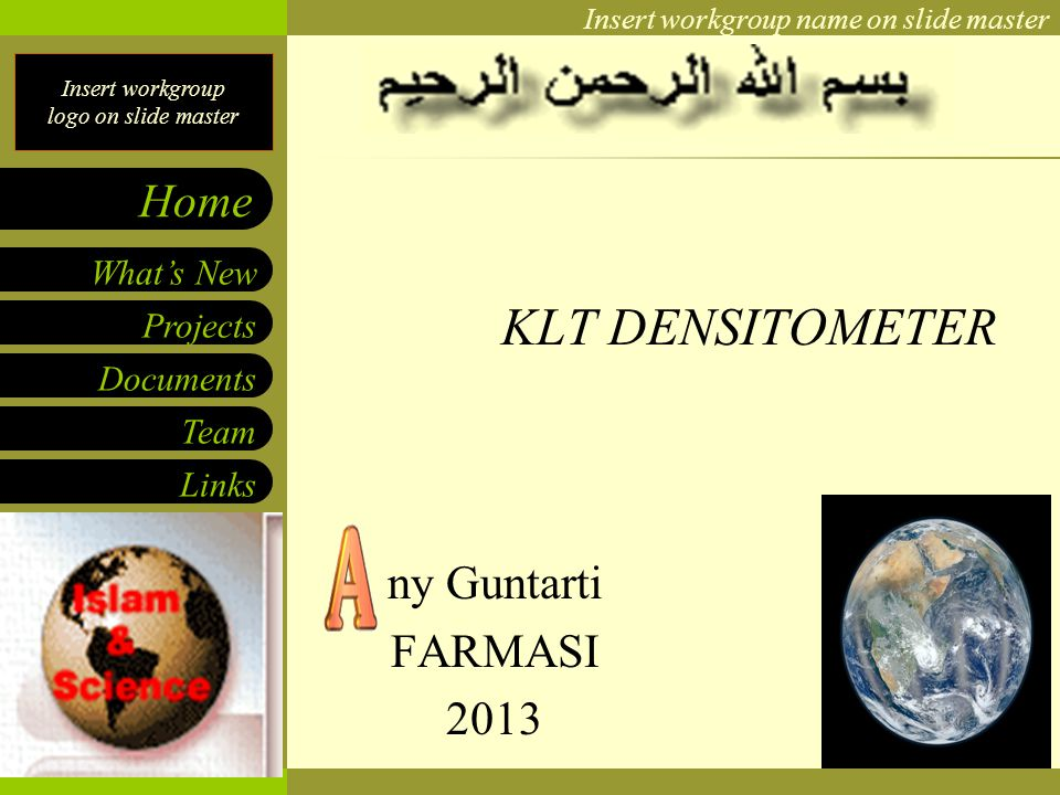 KLT DENSITOMETER ny Guntarti FARMASI 2013