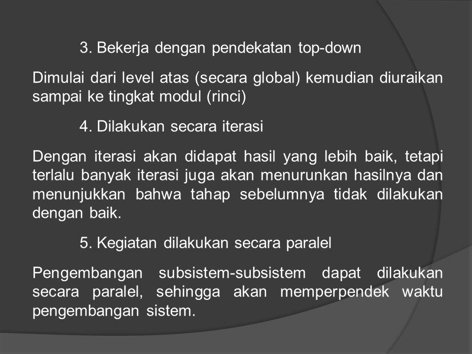 3. Bekerja dengan pendekatan top-down