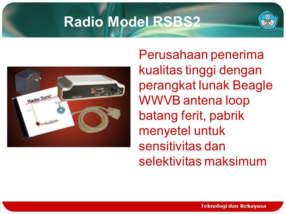 Radio Model RSBS2