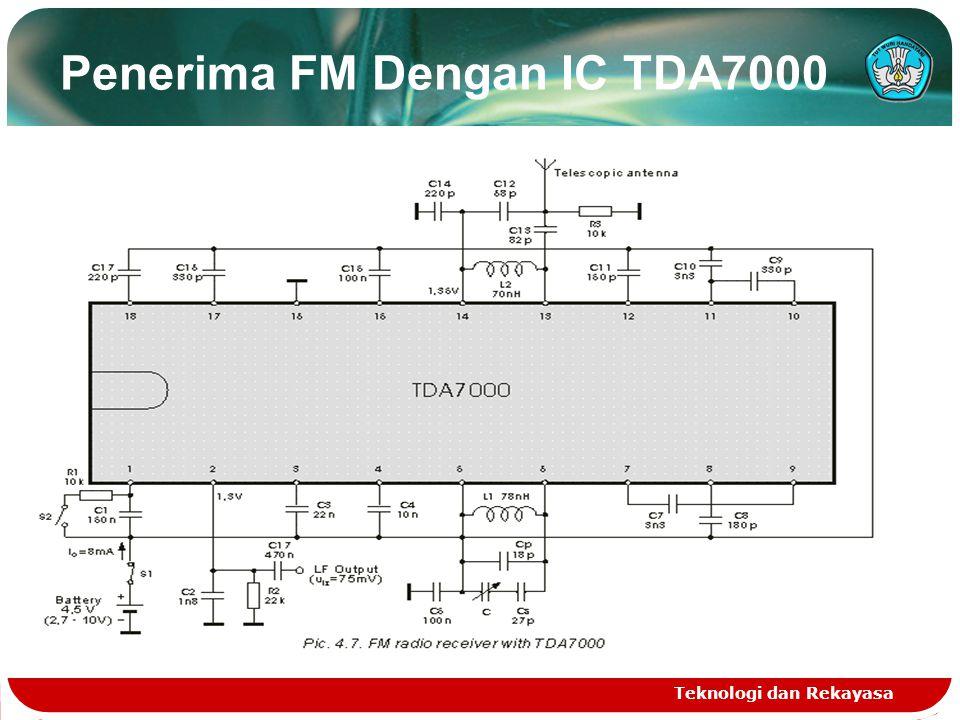 Penerima FM Dengan IC TDA7000