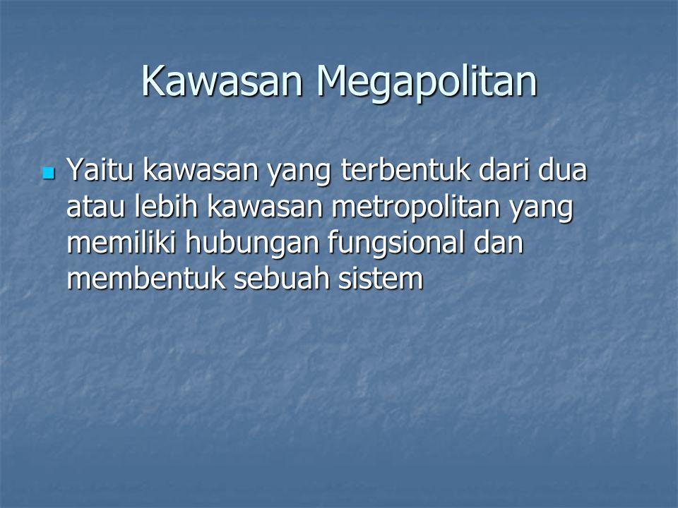 Kawasan Megapolitan