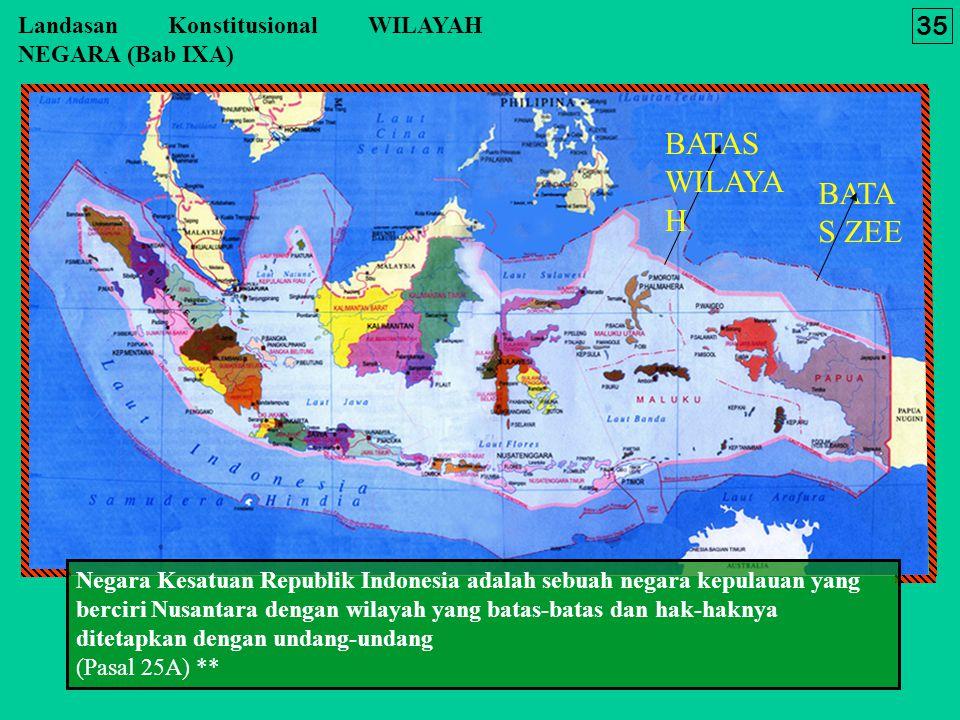 BATAS WILAYAH BATAS ZEE 35