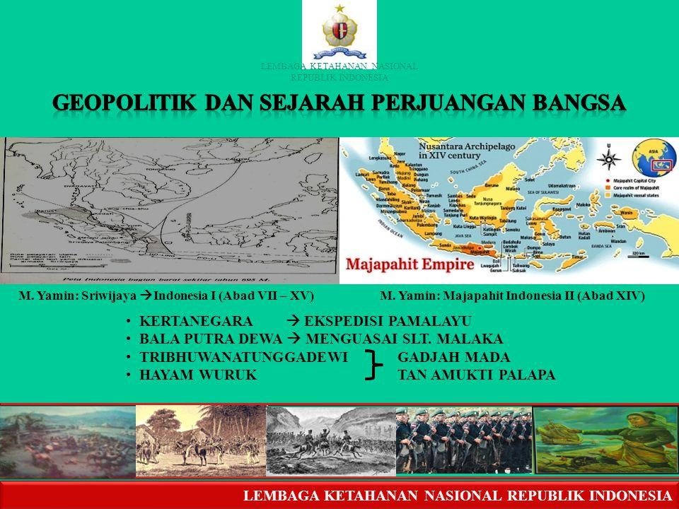 GEOPOLITIK DAN SEJARAH PERJUANGAN BANGSA