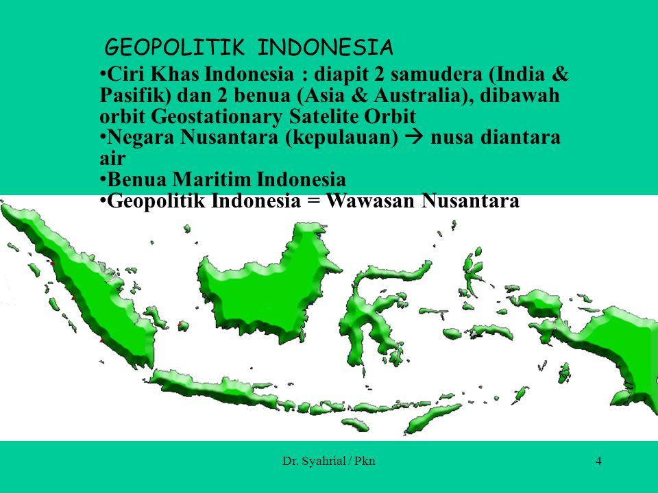 Negara Nusantara (kepulauan)  nusa diantara air