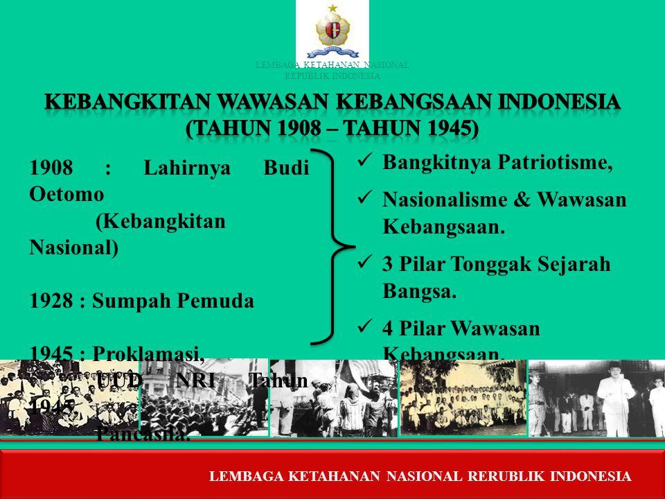 KEBANGKITAN WAWASAN KEBANGSAAN INDONESIA