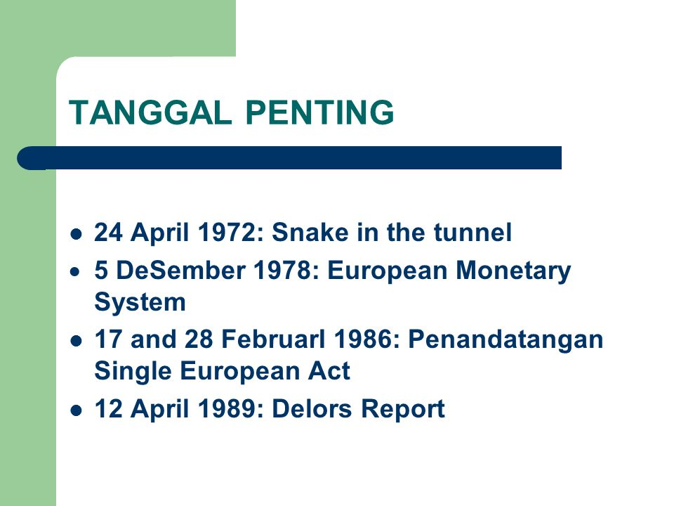TANGGAL PENTING 24 April 1972: Snake in the tunnel