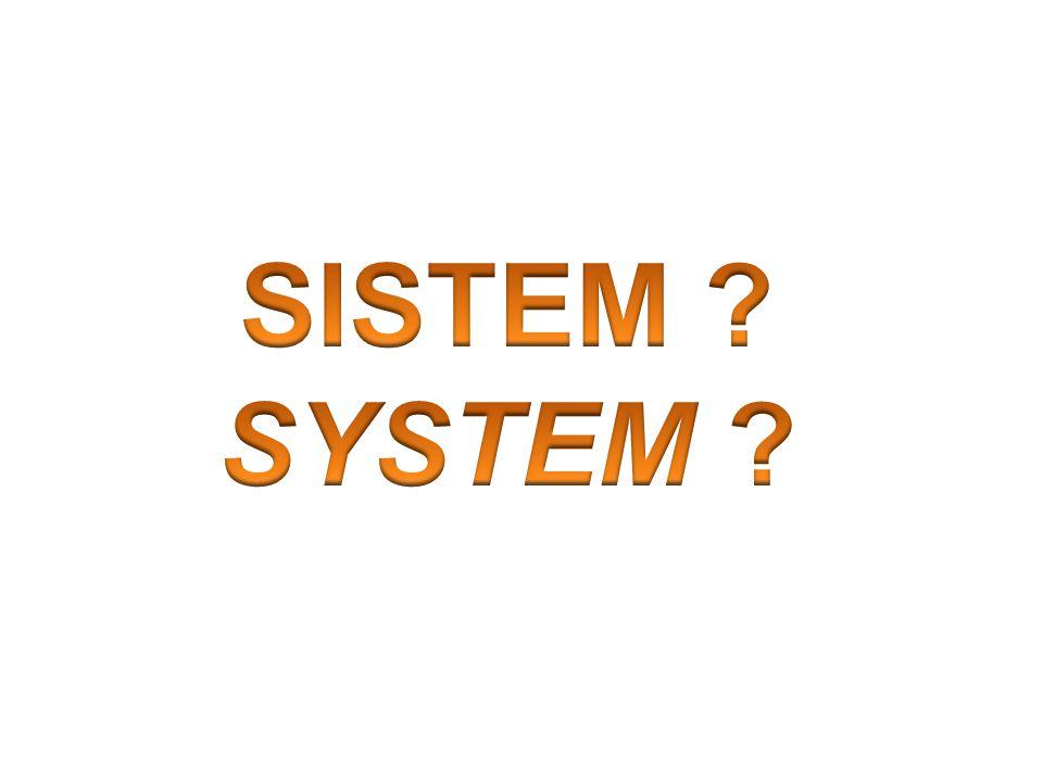 SISTEM SYSTEM