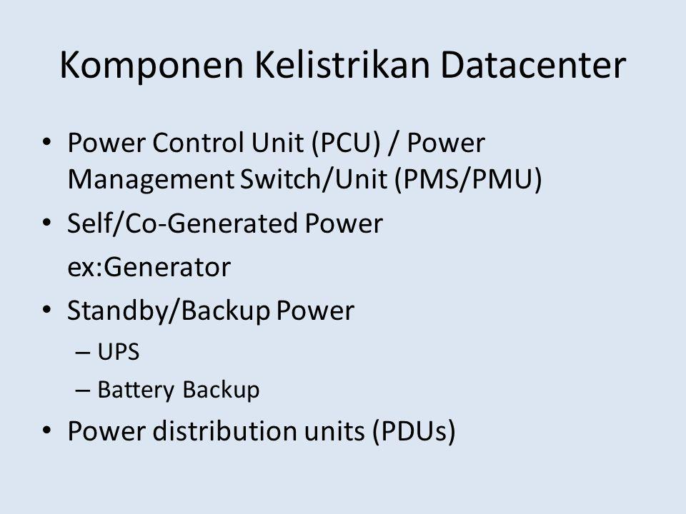 Komponen Kelistrikan Datacenter