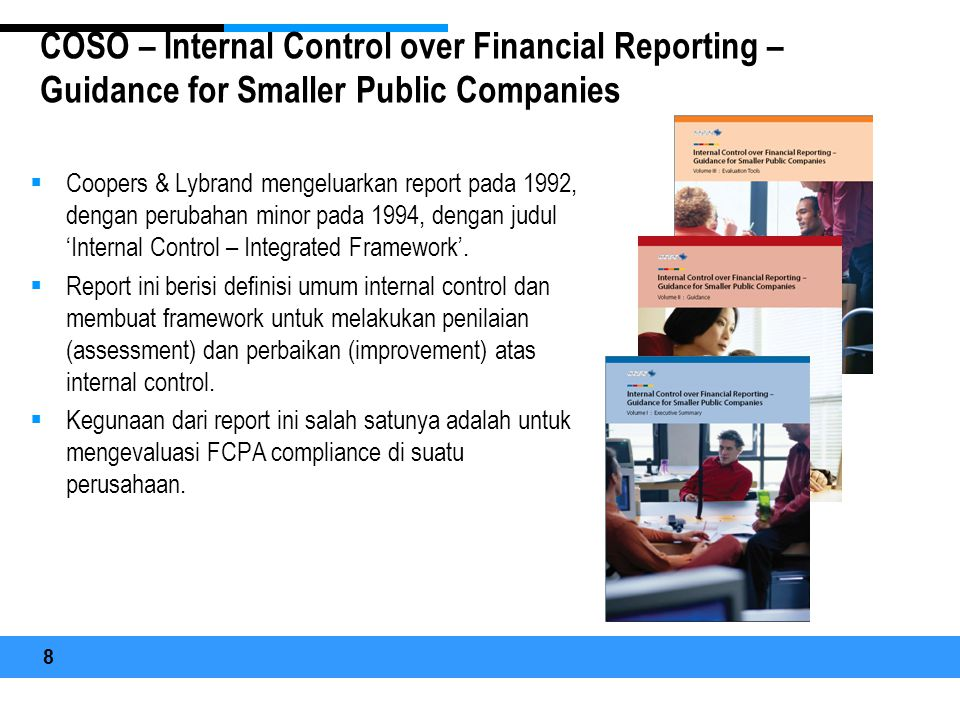 COSO – Internal Control over Financial Reporting – Guidance for Smaller Public Companies