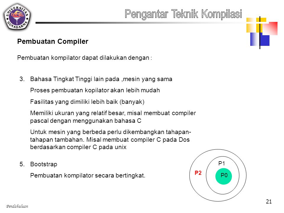 Pengantar Teknik Kompilasi