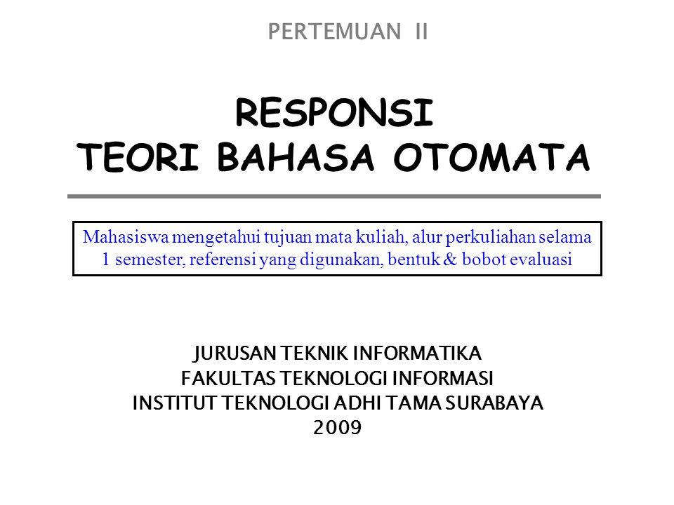 RESPONSI TEORI BAHASA OTOMATA