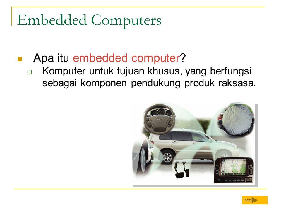 Embedded Computers Apa itu embedded computer