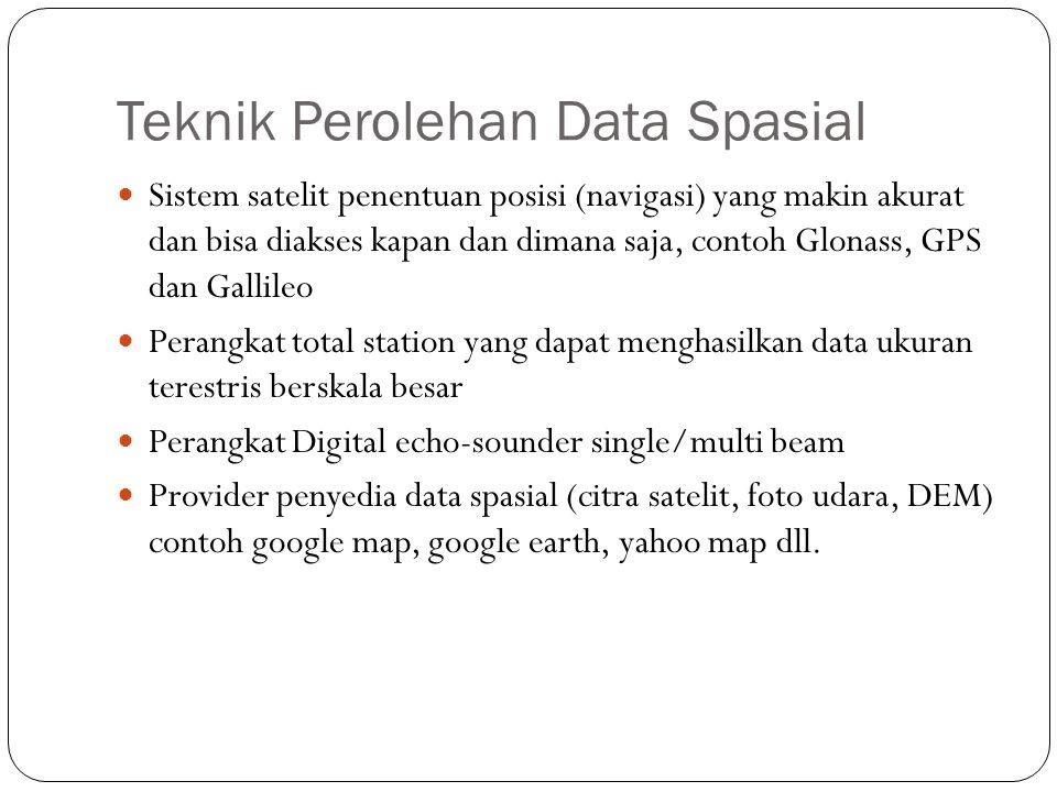 Teknik Perolehan Data Spasial