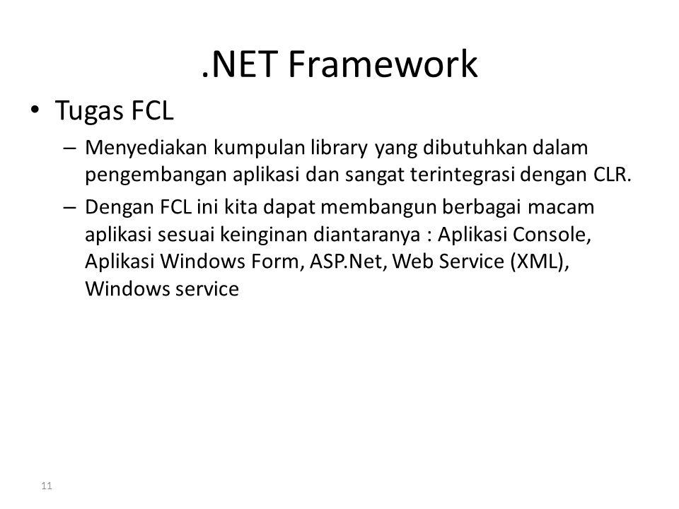 .NET Framework Tugas FCL