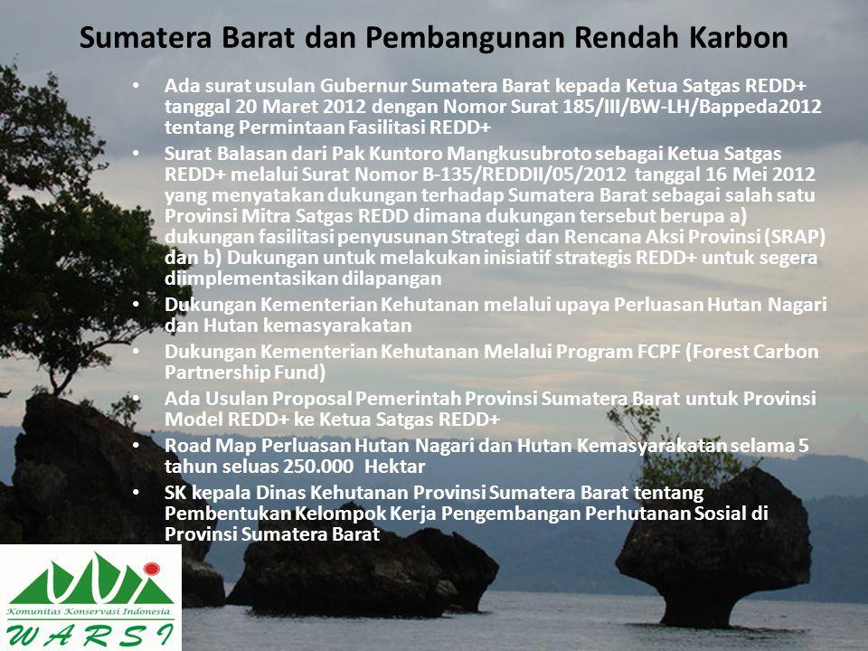 Sumatera Barat dan Pembangunan Rendah Karbon