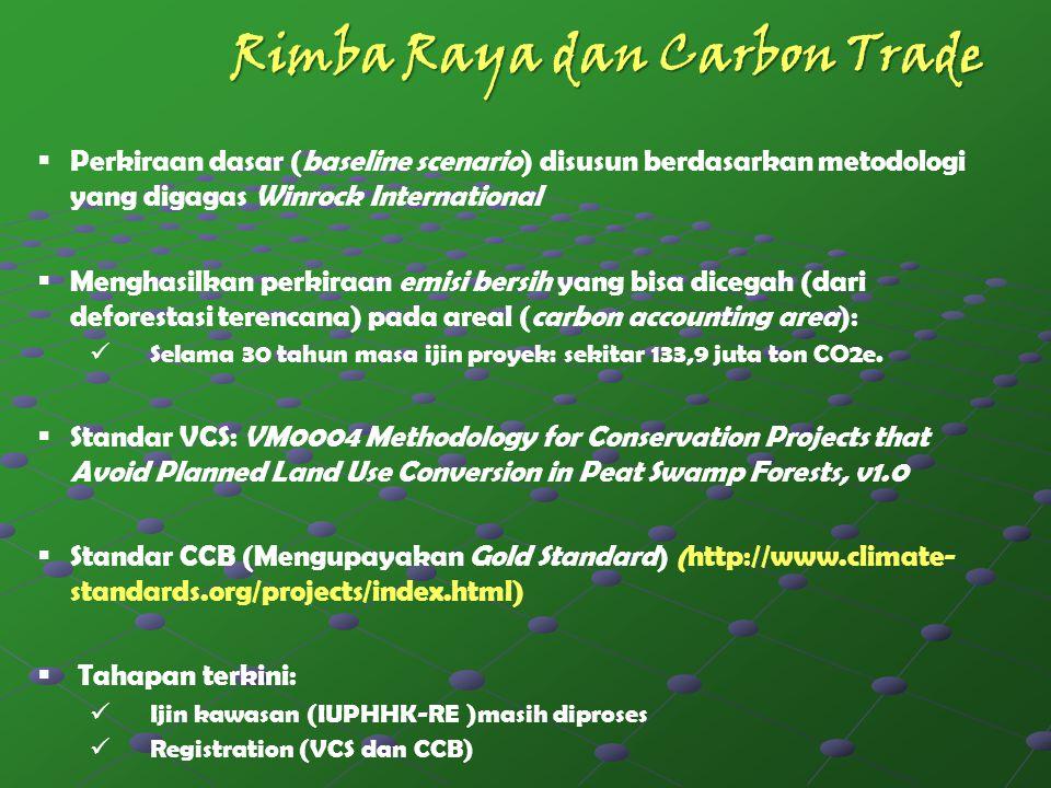 Rimba Raya dan Carbon Trade
