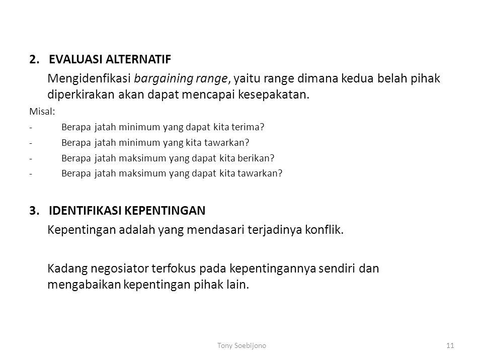3. IDENTIFIKASI KEPENTINGAN