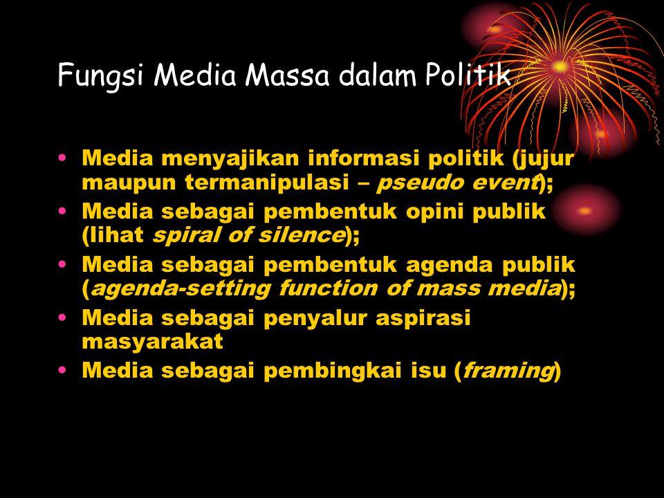 Fungsi Media Massa dalam Politik