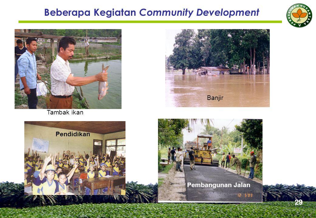 3. Kemitraan A. KKPA. PTPN V sampai dengan tahun 2007 rencananya akan membangun kebun kelapa sawit untuk masyarakat tempatan seluas 12.000 ha.
