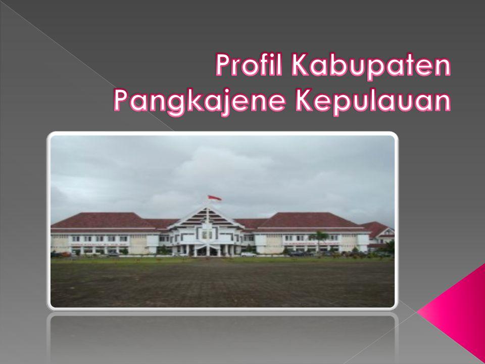 Profil Kabupaten Pangkajene Kepulauan