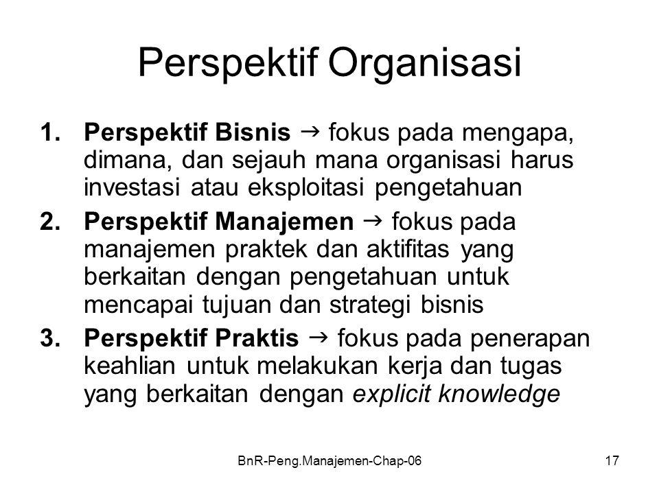 Perspektif Organisasi