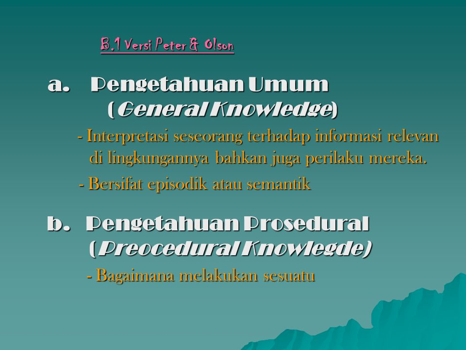 Pengetahuan Umum (General Knowledge)