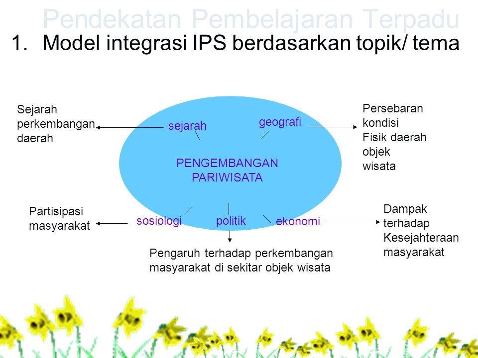 Pendekatan Pembelajaran Terpadu