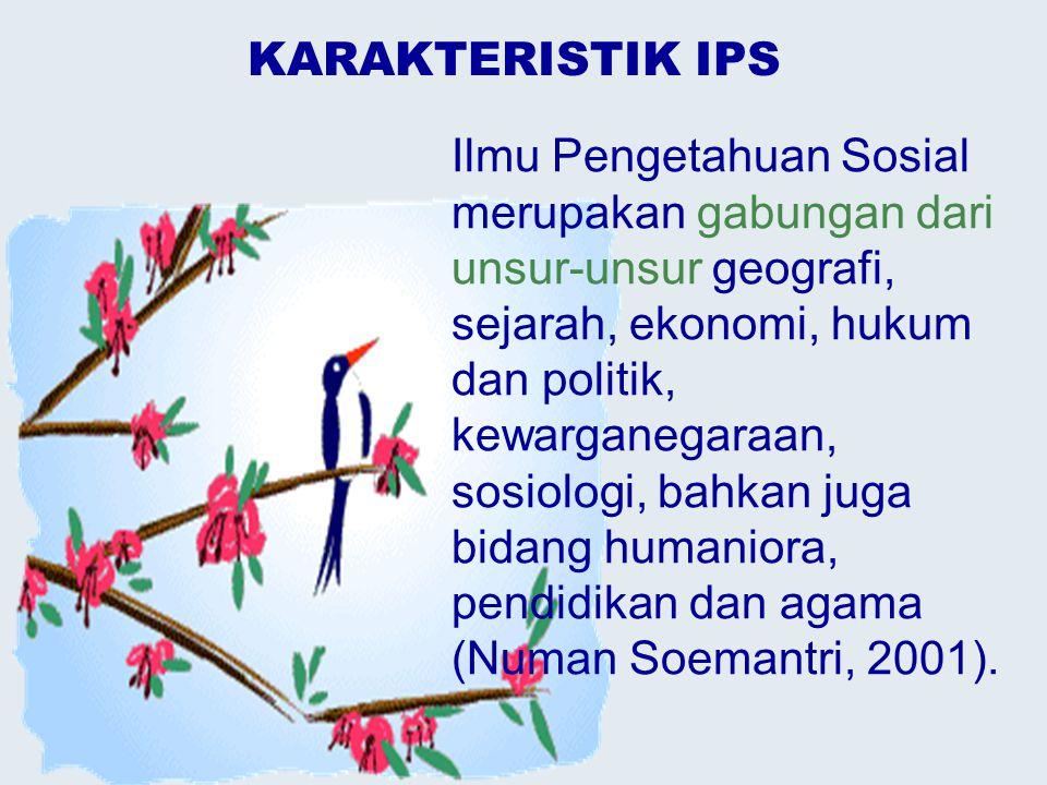 KARAKTERISTIK IPS
