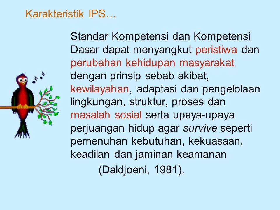 Karakteristik IPS…