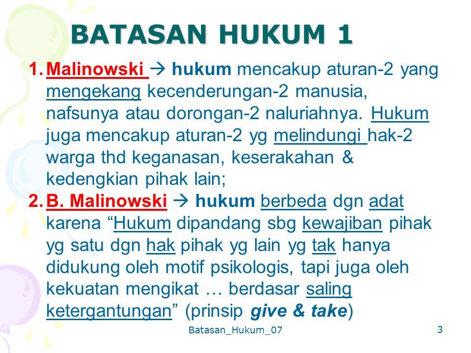 BATASAN HUKUM 1