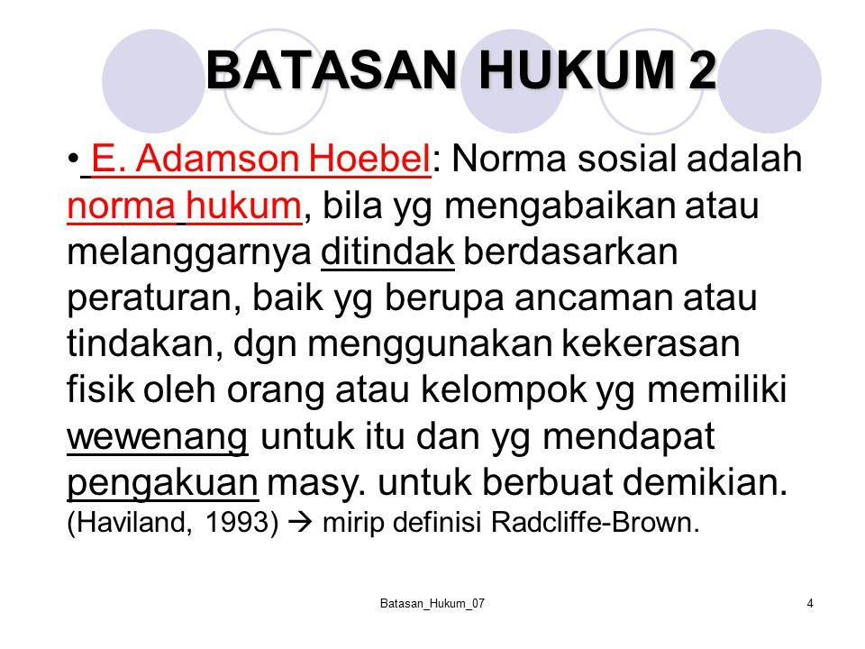 BATASAN HUKUM 2