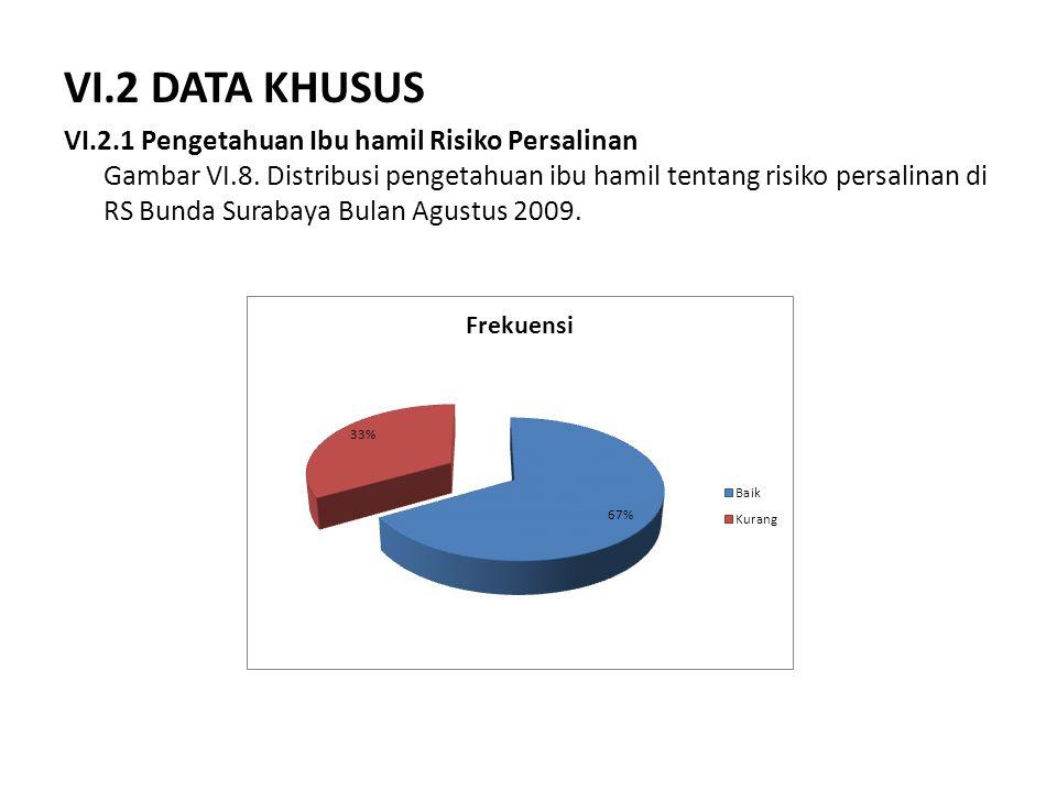 VI.2 DATA KHUSUS
