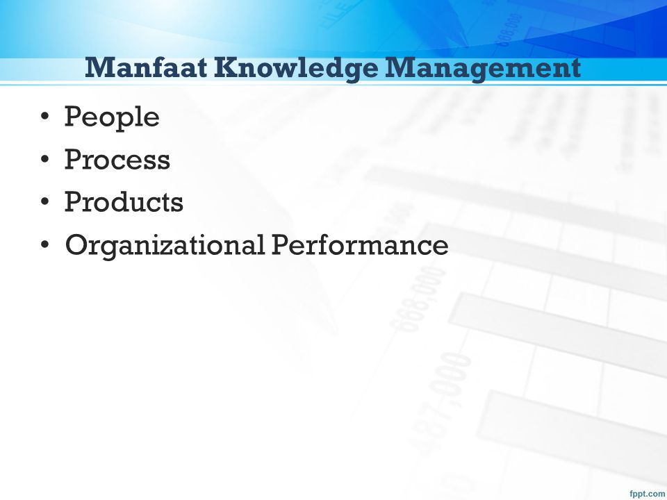 Manfaat Knowledge Management