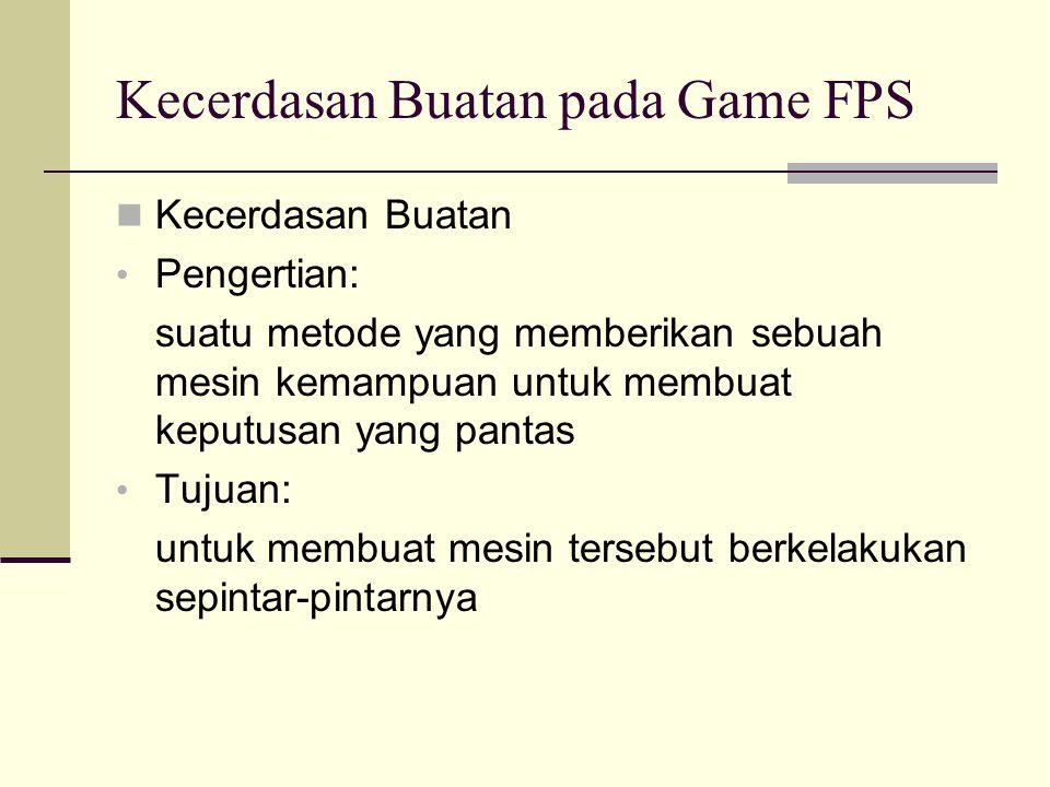 Kecerdasan Buatan pada Game FPS