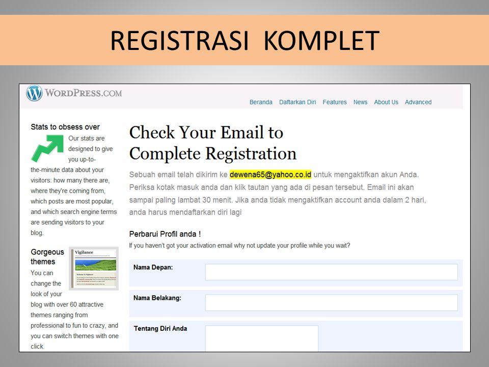 REGISTRASI KOMPLET
