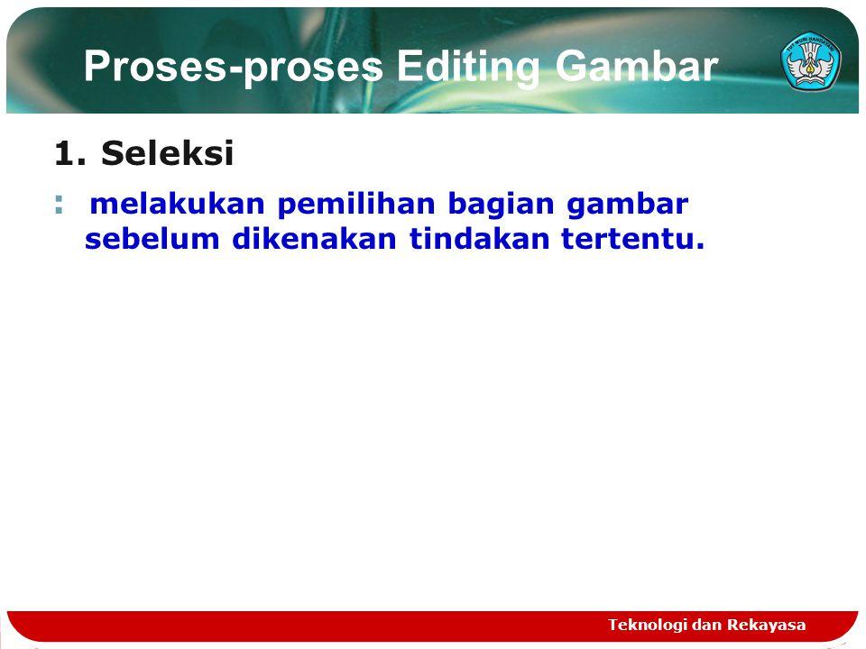 Proses-proses Editing Gambar