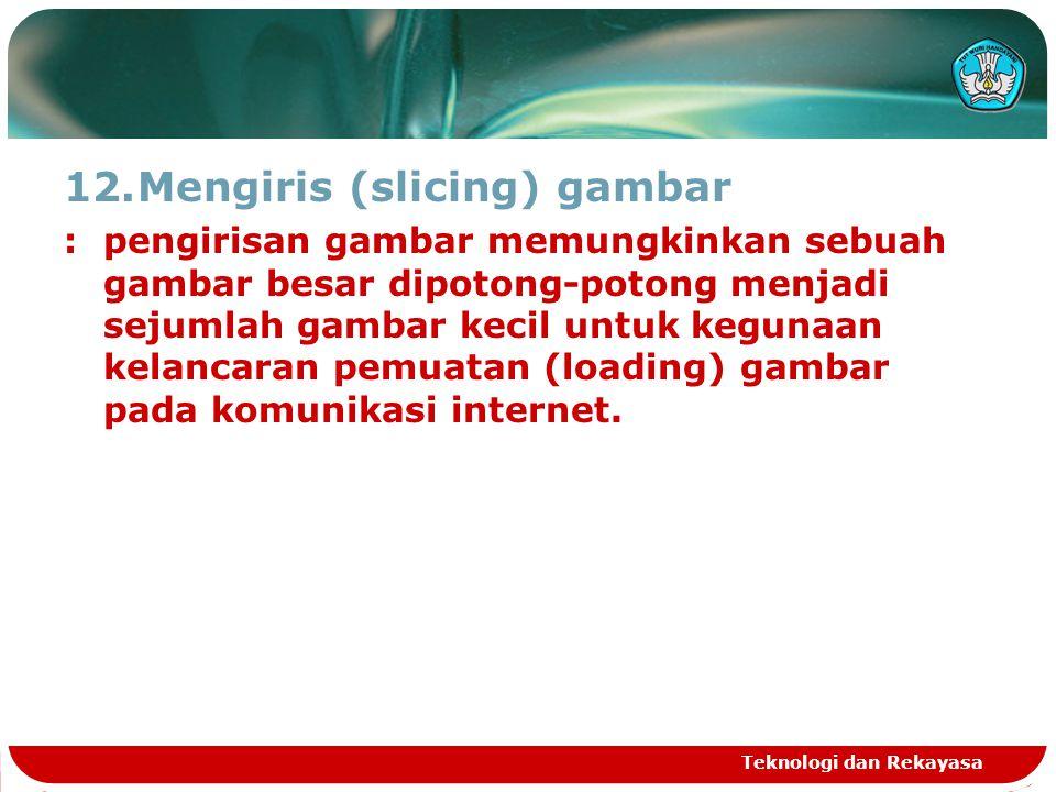 Mengiris (slicing) gambar