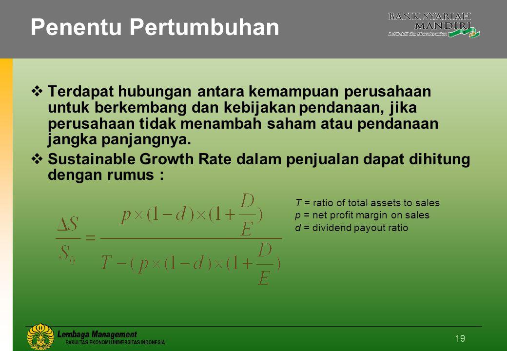 Penentu Pertumbuhan