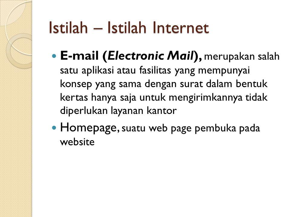 Istilah – Istilah Internet