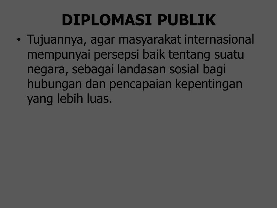 DIPLOMASI PUBLIK