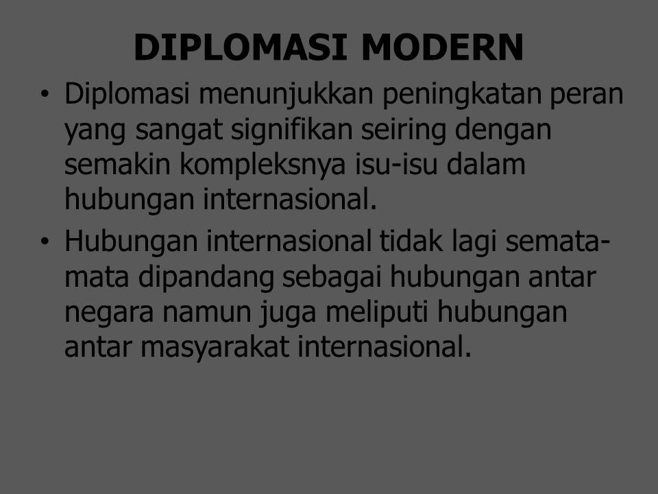 DIPLOMASI MODERN