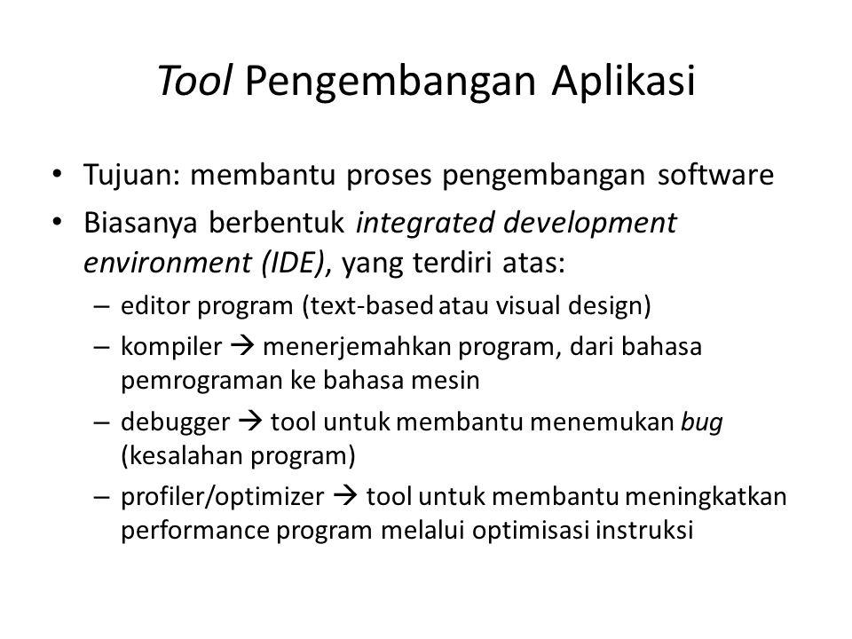 Tool Pengembangan Aplikasi