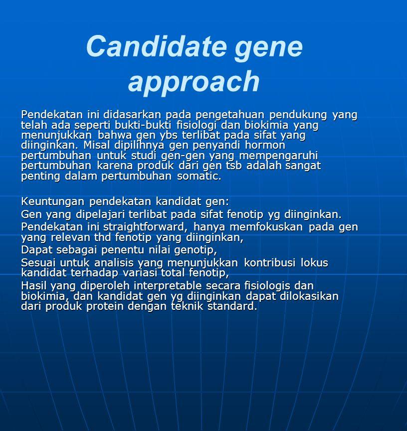Candidate gene approach