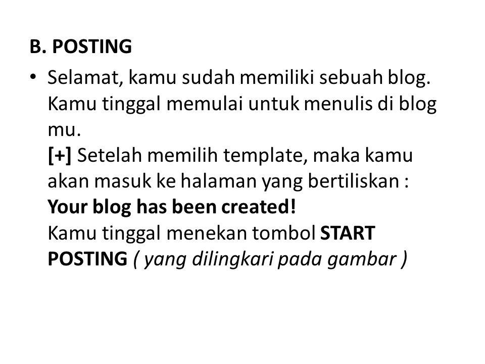 B. POSTING