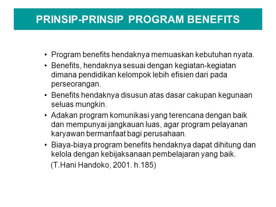 PRINSIP-PRINSIP PROGRAM BENEFITS