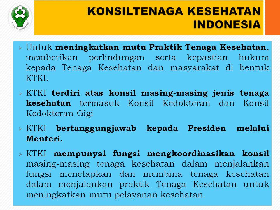 KONSILTENAGA KESEHATAN INDONESIA
