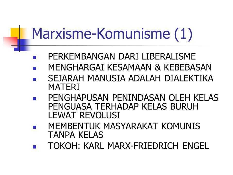 Marxisme-Komunisme (1)