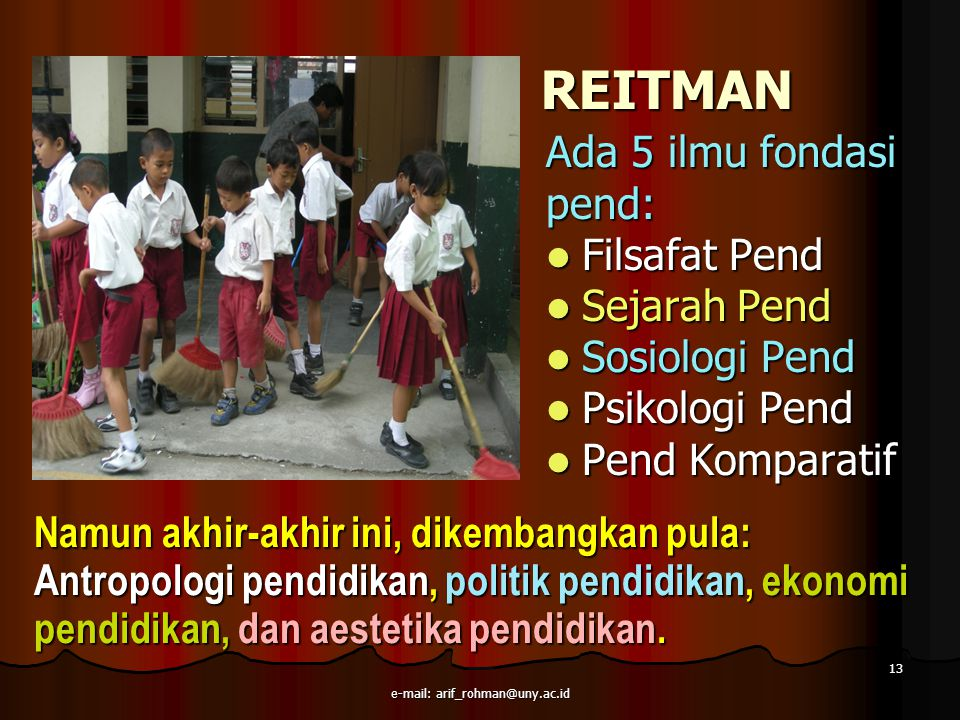 e-mail: arif_rohman@uny.ac.id