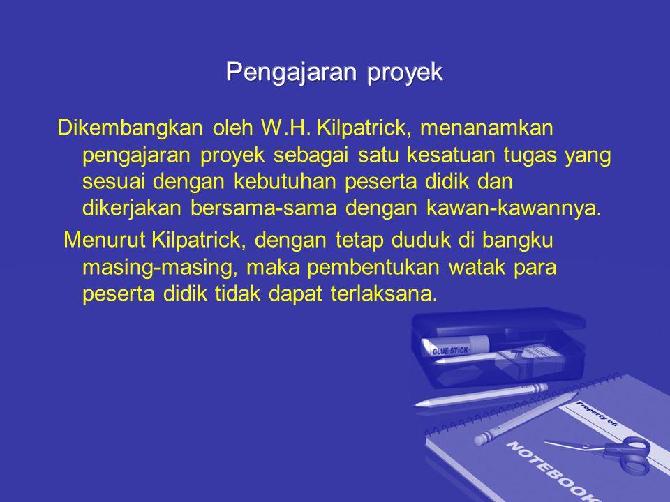Pengajaran proyek