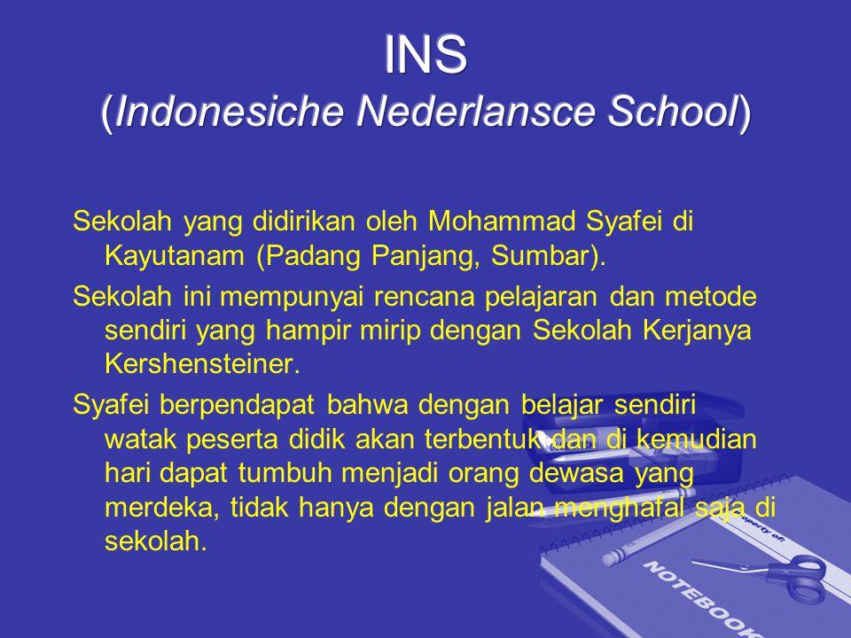 INS (Indonesiche Nederlansce School)